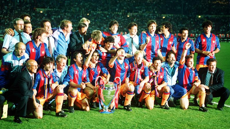 FC Barcelona celebrates Champions League 1992