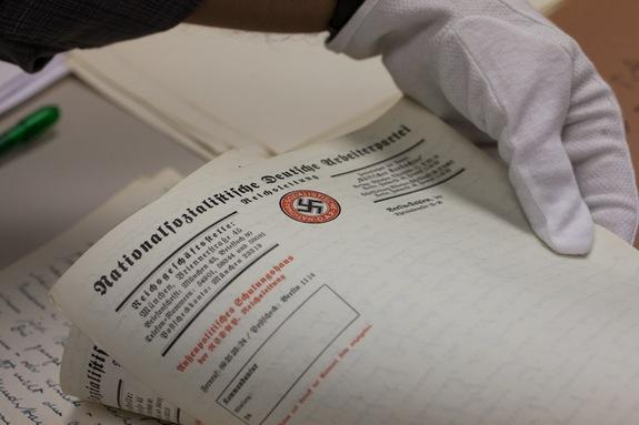 Long-Lost Nazi Diary Transferred to Holocaust Museum
