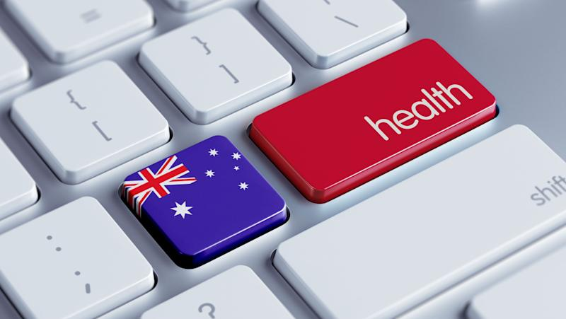Australia High Resolution Health Concept