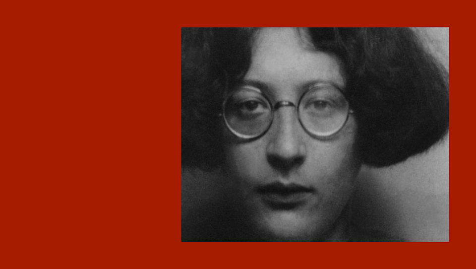 """<span class=""""caption"""">Simone Weil (1909–1943) </span> <span class=""""attribution""""><a class=""""link rapid-noclick-resp"""" href=""""https://commons.wikimedia.org/wiki/File:Simone_Weil_06.jpg"""" rel=""""nofollow noopener"""" target=""""_blank"""" data-ylk=""""slk:Wikimedia Commons"""">Wikimedia Commons</a></span>"""