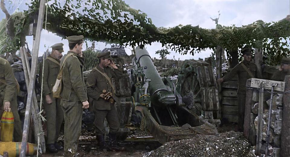 World War I vividly brought to life in first trailer for Peter Jackson's 'They Shall Not Grow Old'