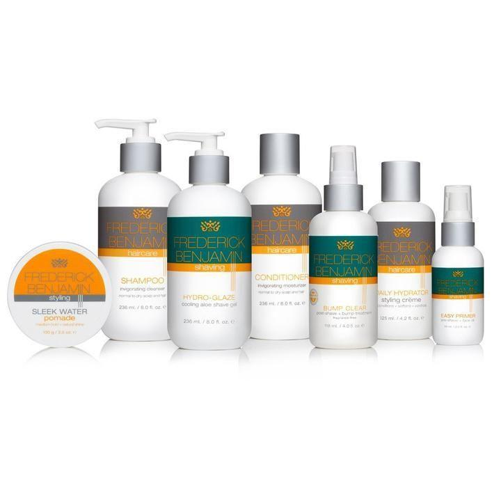 """<p>frederickbenjamin.com</p><p><strong>$75.00</strong></p><p><a href=""""https://shop.frederickbenjamin.com/products/the-complete-experience-shave-hair-care"""" rel=""""nofollow noopener"""" target=""""_blank"""" data-ylk=""""slk:Shop Now"""" class=""""link rapid-noclick-resp"""">Shop Now</a></p><p>They might not tell you outright that they want this gift...but that doesn't mean they won't get a ton of good use out of it. This grooming set includes seven carefully crafted products to keep them looking and feeling their best.</p>"""