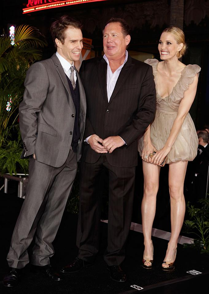 """<a href=""""http://movies.yahoo.com/movie/contributor/1800021961"""">Sam Rockwell</a>, <a href=""""http://movies.yahoo.com/movie/contributor/1800019043"""">Garry Shandling</a> and <a href=""""http://movies.yahoo.com/movie/contributor/1800355599"""">Leslie Bibb</a> at the Los Angeles premiere of <a href=""""http://movies.yahoo.com/movie/1810026429/info"""">Iron Man 2</a> - 04/26/2010"""