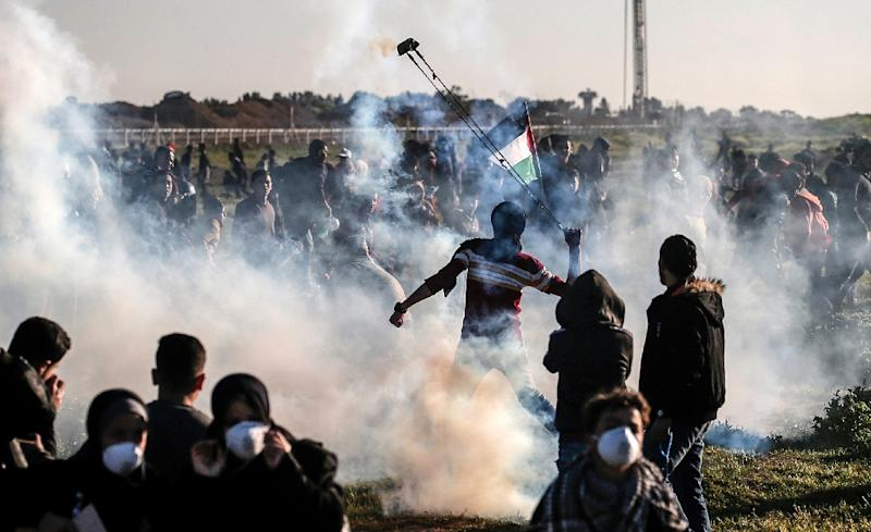 Weekly protests have rocked the Gaza frontier with Israel for nearly a year