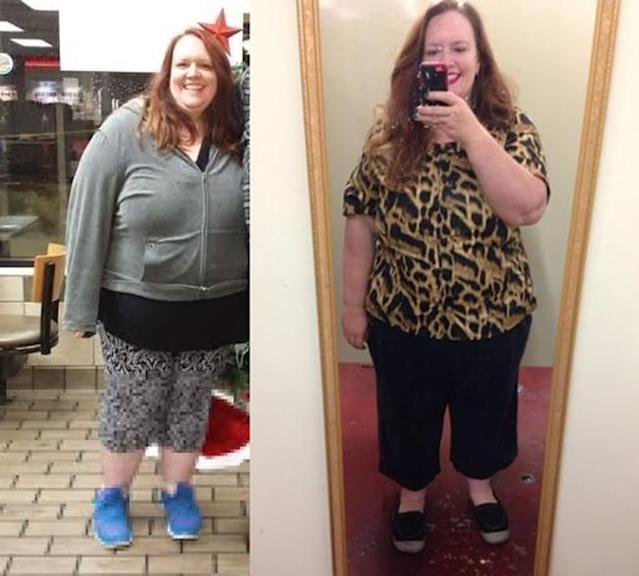 Mary Gould is amazed at the confidence she's gained from her weight loss.