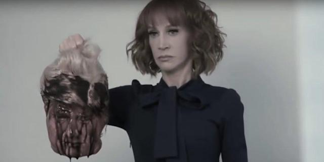 Kathy Griffin in a new Republican National Committee TV ad. (Photo: RNC)