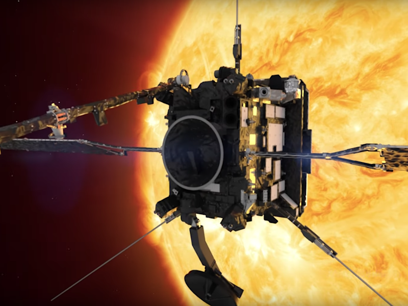 The Solar Orbiter will travel within 42 million kilometres of the Sun, after using Venus's gravitational field, and will also dip into Mercury's orbit: Nasa/Youtube/Screengrab