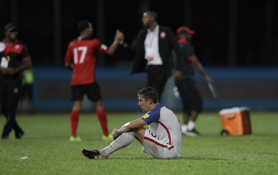 The U.S. will miss the World Cup. (AP)