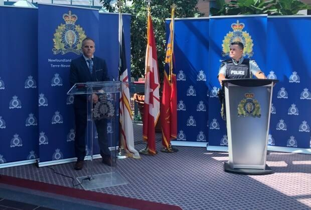 Police in St. John's on Wednesday announced 10 arrests in Project Bonshaw, a seven-month cocaine investigation. (Royal Canadian Mounted Police - image credit)