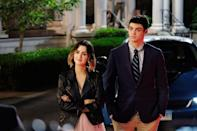 """<p>To save up for college, Brooks Rattigan (Noah Centineo) creates an app where anyone can pay him to play the perfect <a href=""""https://www.popsugar.com/entertainment/Perfect-Date-Netflix-Movie-Trailer-45959473"""" class=""""link rapid-noclick-resp"""" rel=""""nofollow noopener"""" target=""""_blank"""" data-ylk=""""slk:stand-in boyfriend"""">stand-in boyfriend</a> for any occasion. </p>"""