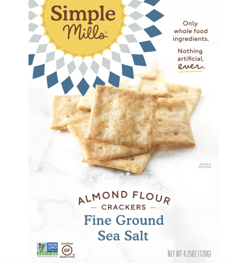 Simple Mills, Naturally Gluten-Free, Almond Flour Crackers. PHOTO: iHerb