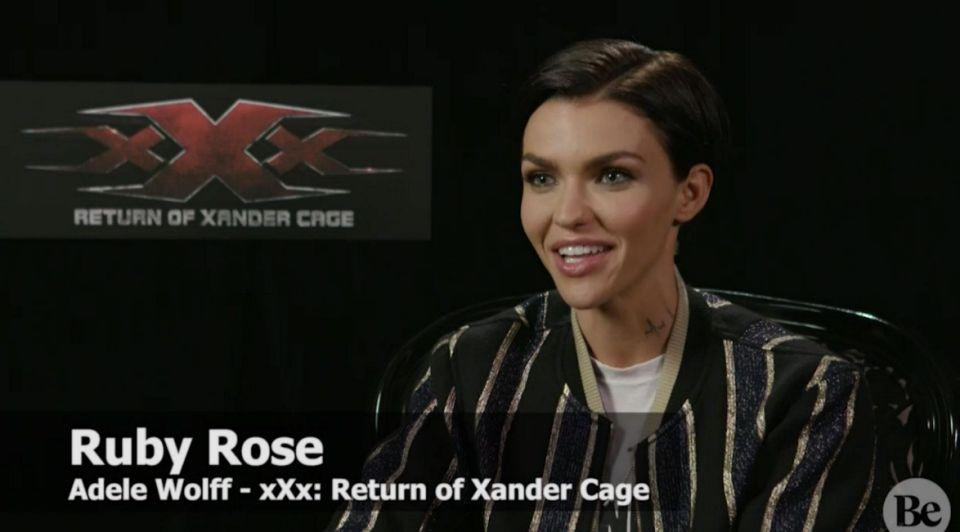 Ruby speaks to Be ahead of the film's release. Source: Yahoo7 Be
