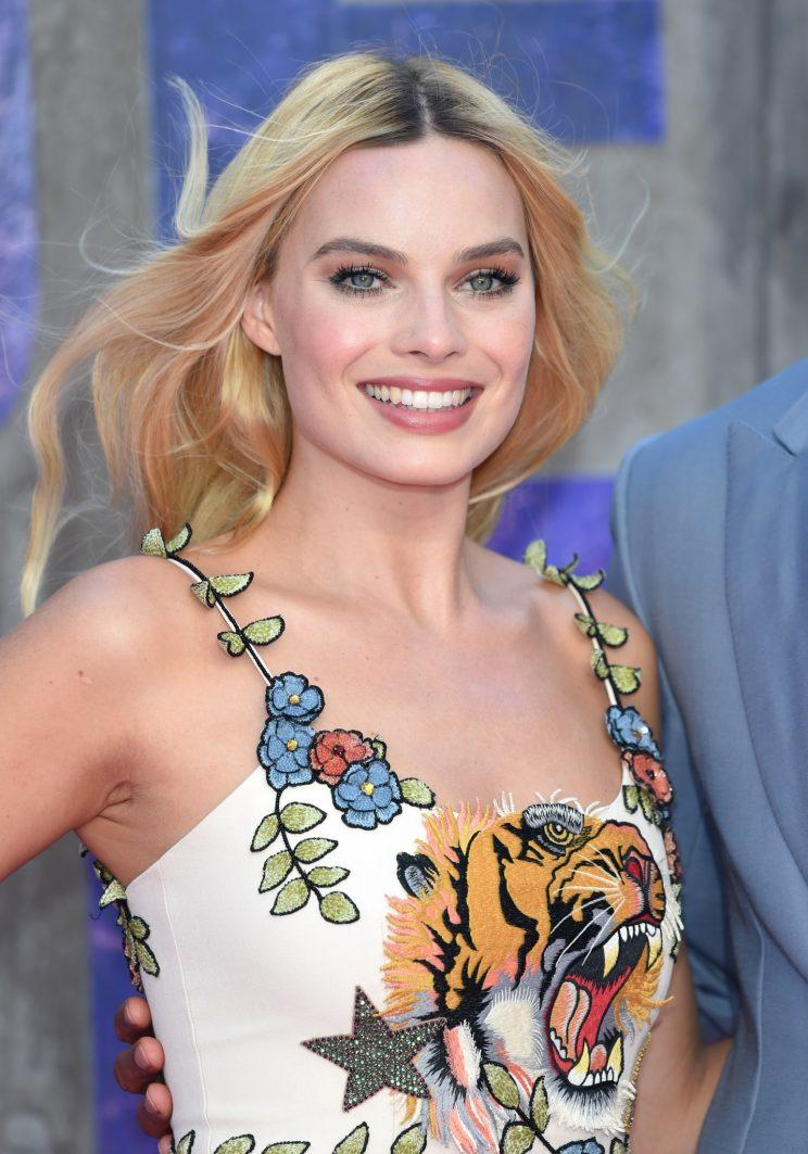 Margot Robbie, looking flawless as usual. (Photo: Getty Images)