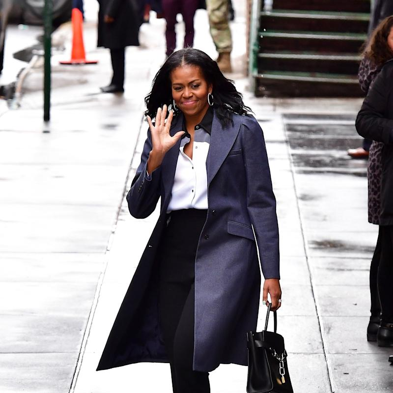This Is the Photo of Michelle Obama With Natural Hair That You've Been Waiting For