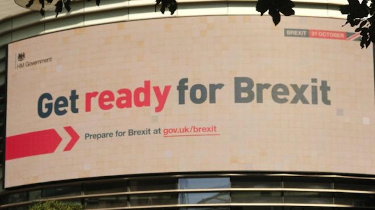 The Get Ready For Brexit advertising campaign will cost £100 million (Picture: Cabinet Office)