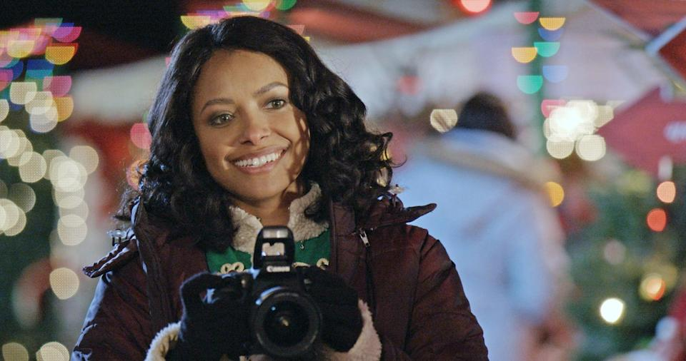"""<p>It wouldn't be Christmastime without a hint of magic in rom-coms! In this one, a photographer inherits an Advent calendar that does more than countdown to Christmas: it seems to be able to predict her future, including an unexpected romance.</p> <p><a href=""""http://www.netflix.com/title/80242446"""" class=""""link rapid-noclick-resp"""" rel=""""nofollow noopener"""" target=""""_blank"""" data-ylk=""""slk:Watch The Holiday Calendar on Netflix now."""">Watch <strong>The Holiday Calendar</strong> on Netflix now.</a></p>"""