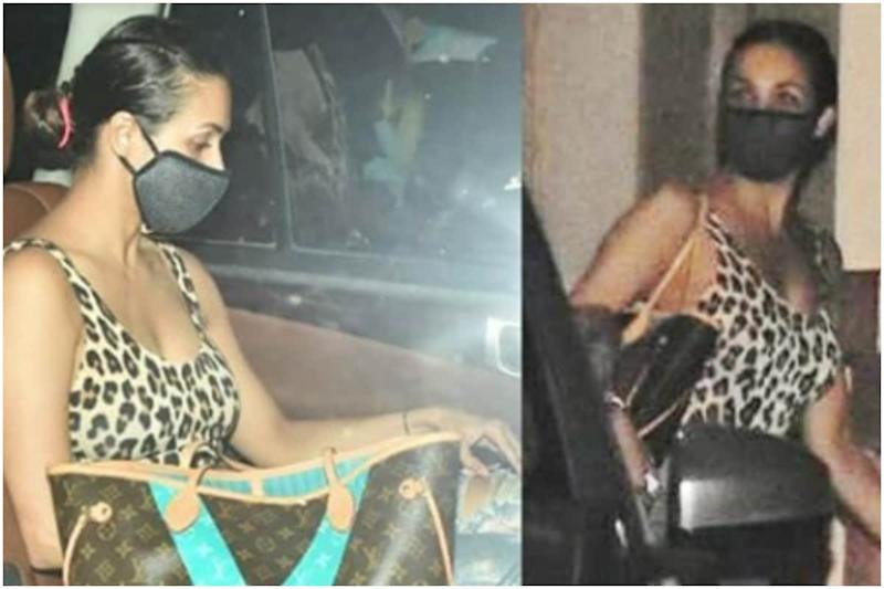 Malaika Arora Steps Out After Covid Recovery, See Pics