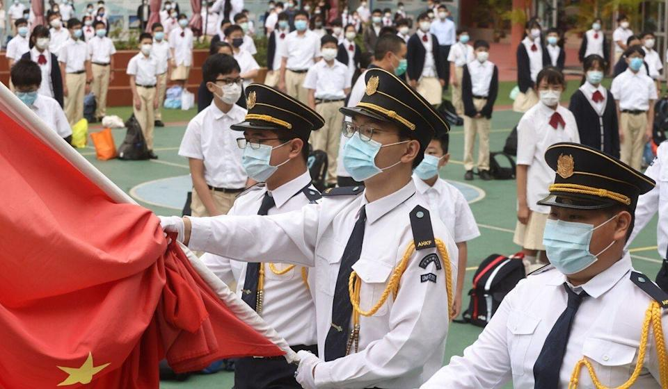 New guidelines have been issued to Hong Kong schools to bring them in line with the national security legislation imposed by Beijing. Photo: K.Y. Cheng