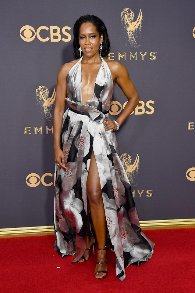 <p>Regina King attends the 69th Annual Primetime Emmy Awards on September 17, 2017.<br> (Photo: Getty Images) </p>