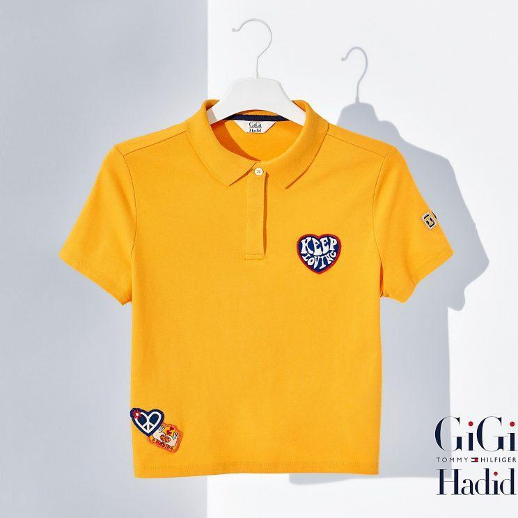 A polo shirt from the new collection