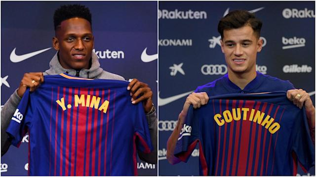 With Philippe Coutinho and Yerry Mina secured as Real Madrid continue to struggle, the Barca boss reflected upon on his side's strength