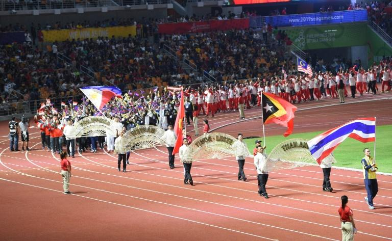 Organisers managed to get the SEA Games schedule back on track to finish Wednesday, even after the event was briefly battered by a deadly typhoon