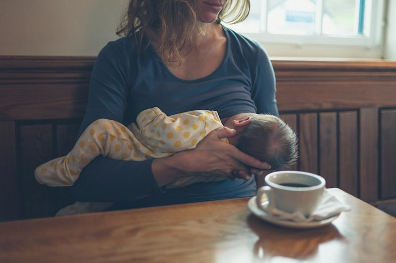 Many nursing moms don't know their rights, including the fact that it's legal to breastfeed in public in all 50 states. (Photo: Getty Images)