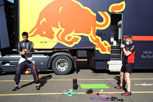 "Alex Albon, Red Bull Racing <span class=""copyright"">Red Bull Content Pool</span>"