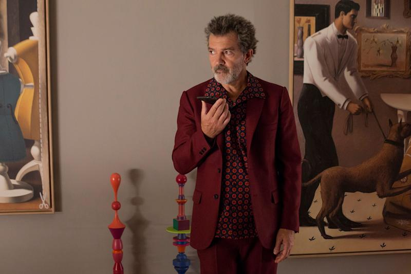 Antonio Banderas stars as an aging Spanish filmmaker coming to grips with his past and present in