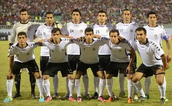 Afghanistan Football Team at SAFF 2013