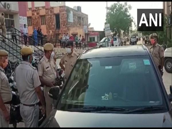 Visual of Bharatpur where the incident took place (Photo/ANI)