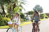 <p>Try riding to a new coffee shop or park you've never been to.</p>