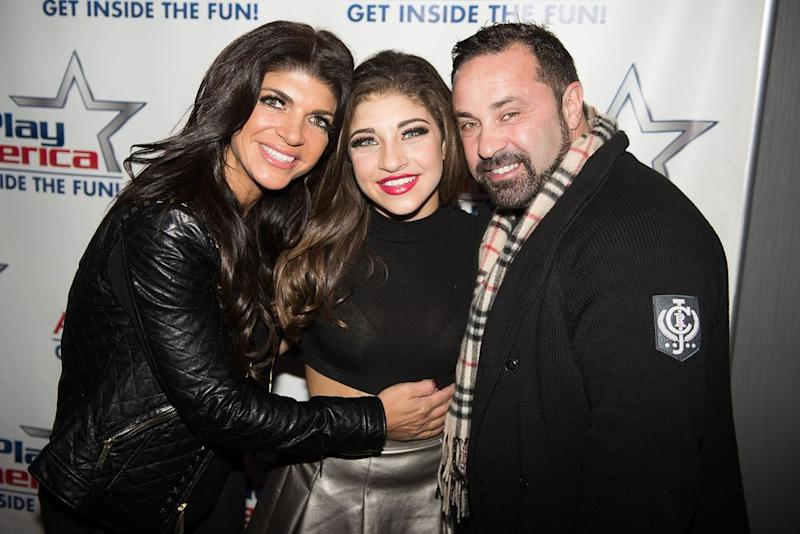 Teresa Giudice, daughter Gia Giudice, and Joe Giudice | Dave Kotinsky/Getty Images
