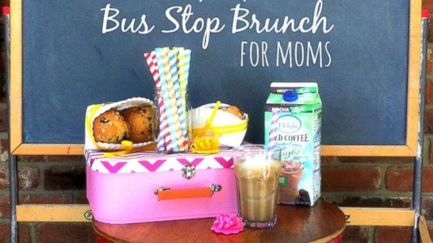 PHOTO: A bus stop back-to-school brunch is a perfect way to celebrate the first day of school. (Anna Luther/My Life and Kids)