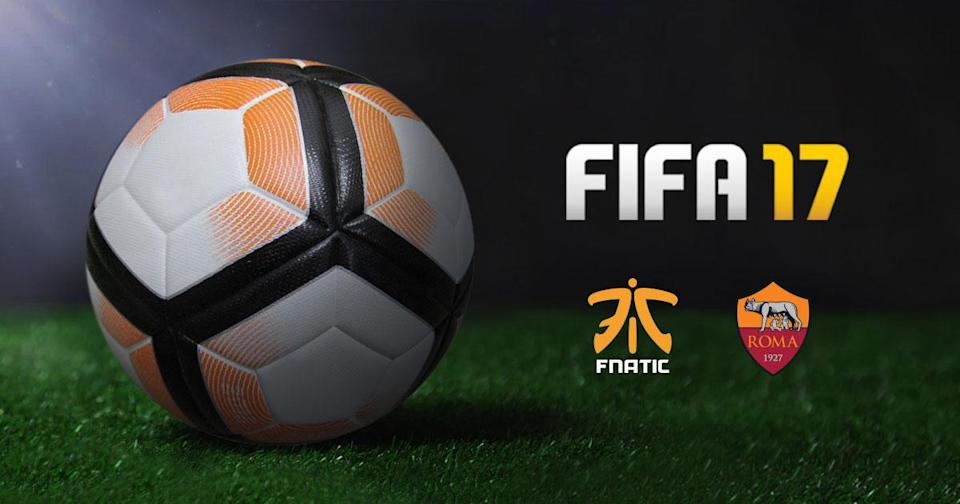 Fnatic has partnered with AS Roma for its FIFA team. (Fnatic)