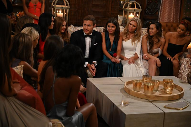 The Bachelor Contestants Had Hilarious Reactions to Their First Trip With Peter