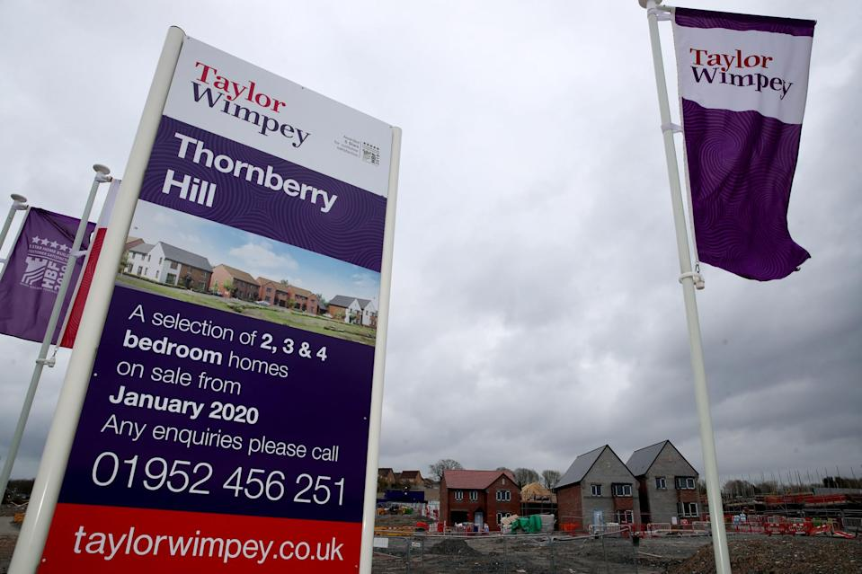 <p>Taylor Wimpey is a FTSE 100 housebuilder</p> (PA)