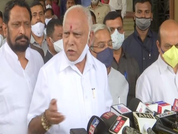 Karnataka Chief Minister BS Yediyurappa (Photo/ANI)