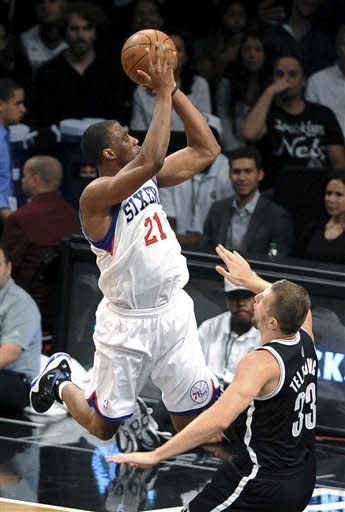 76ers hold on to beat Nets in Brooklyn