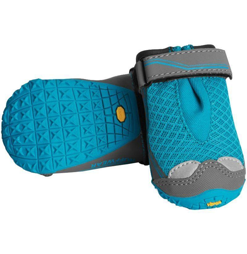 """<p><strong>Ruffwear</strong></p><p>rei.com</p><p><strong>$74.95</strong></p><p><a href=""""https://go.redirectingat.com?id=74968X1596630&url=https%3A%2F%2Fwww.rei.com%2Fproduct%2F897653&sref=https%3A%2F%2Fwww.redbookmag.com%2Flife%2Fg34750861%2Fgifts-for-dog-lovers%2F"""" rel=""""nofollow noopener"""" target=""""_blank"""" data-ylk=""""slk:Buy"""" class=""""link rapid-noclick-resp"""">Buy</a></p><p>Any dog will be walking real funny the first few times it puts on these grippy dog booties, but their paws will stay safe and dry.</p>"""