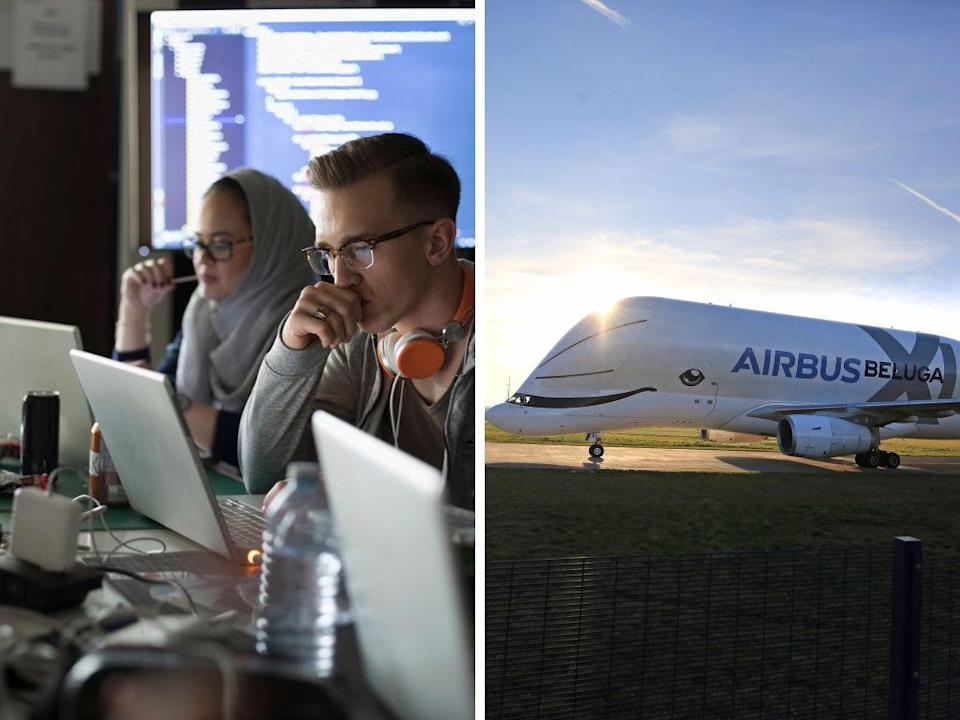 Are you game to design this asset-tracking app for Airbus? <i>(Photo: Getty, AAP)</i>