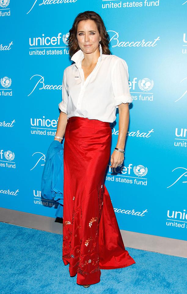 Tea Leoni attends the 7th Annual UNICEF Snowflake Ball at Cipriani 42nd Street on November 30, 2010 in New York City.