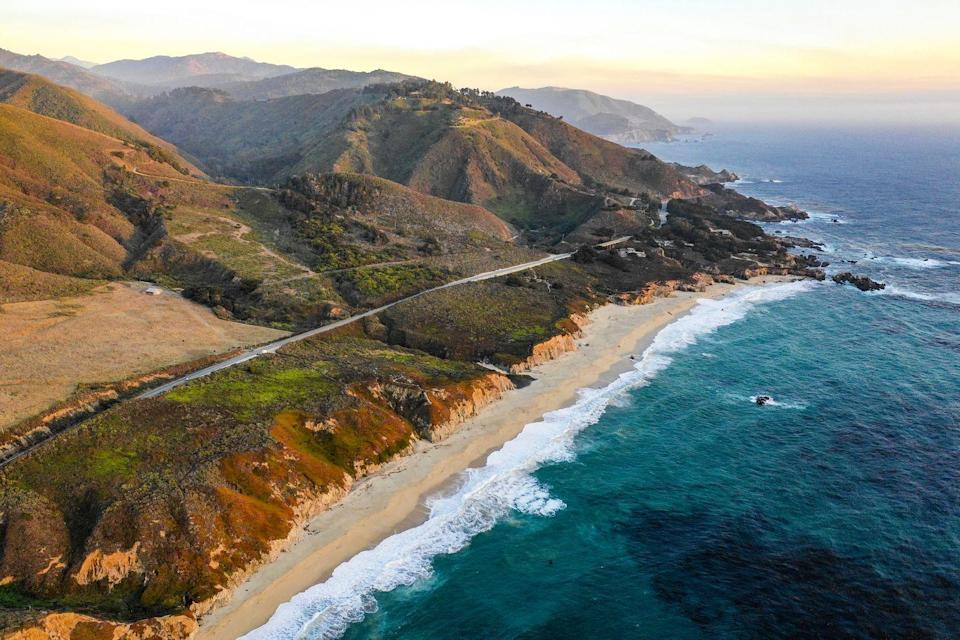<p>Along the coast of California between San Francisco and Los Angeles, this stretch of mountainous shoreline provides excellent running locales. Run through a redwood forest, across a beach, or along the cliffs that overlook the Pacific Ocean. And the misty sea breeze is there to keep you cool.</p>