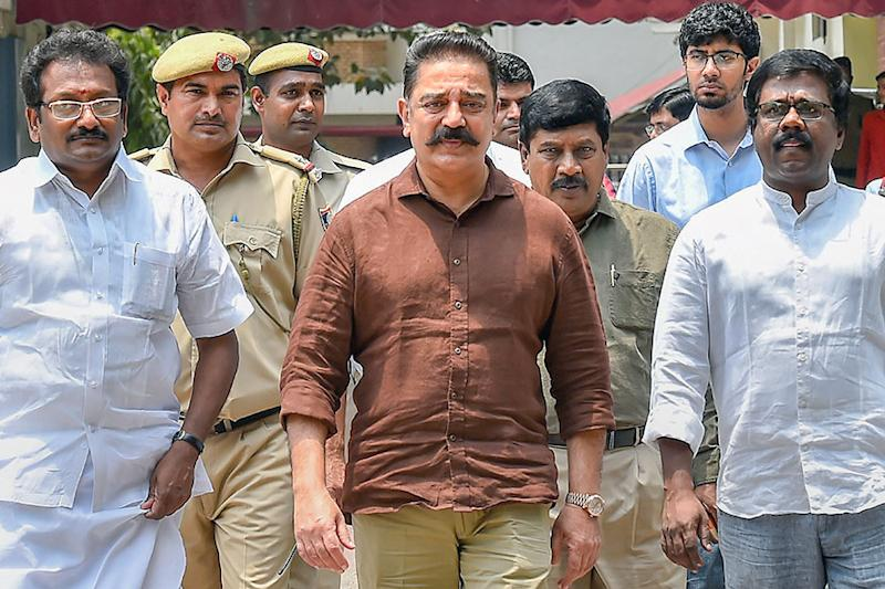 Kamal Haasan Withdraws from Poll Race, Says Will Work Towards Success of His Candidates