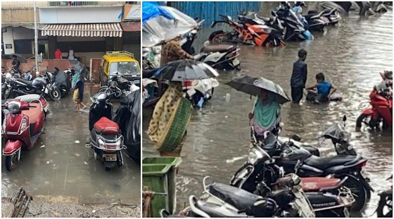 Mumbai Rains: City Receives Heavy Rainfall, Water Logging Reported in Several Parts, IMD Forecasts More Rains