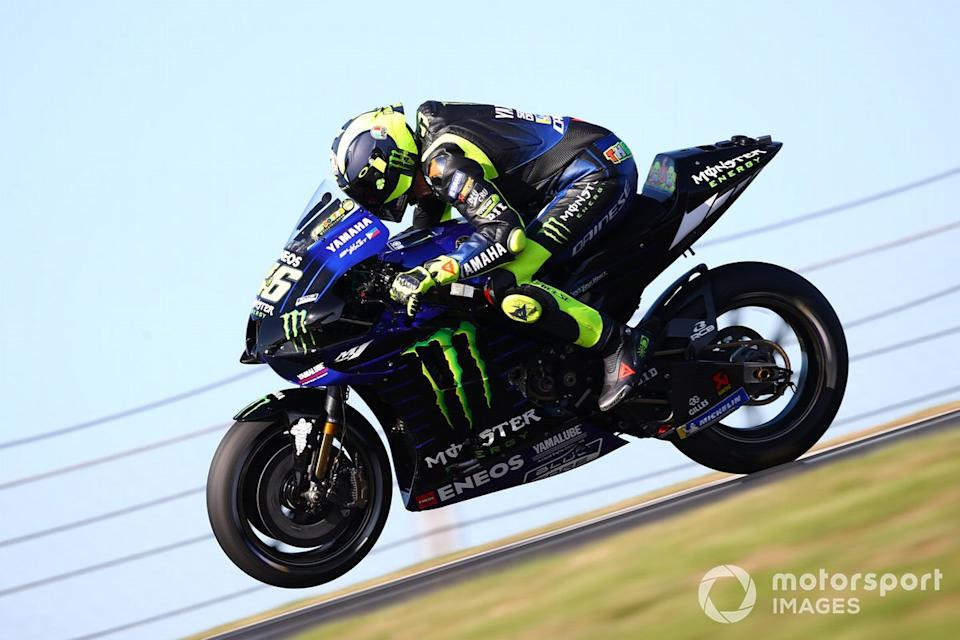 "Valentino Rossi, Yamaha Factory Racing<span class=""copyright"">Gold and Goose / Motorsport Images</span>"