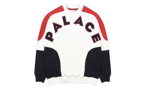 Palace Roundhouse 2 Da Face Crew Sweatshirt  - Credit: Palace