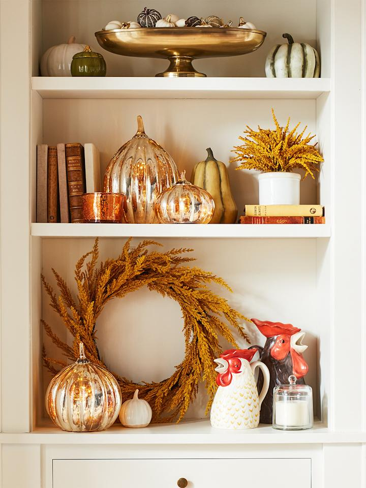 """<a href=""""https://people.com/home/fall-equinox-2018-everything-to-know/"""">Autumn is officially here</a>, and with it comes a new <a href=""""https://www.target.com/c/fall-decorations/-/N-1kw7j"""">Fall Home Collection from Target</a>. Designed to give every corner of your home a chic seasonal refresh, the new releases include everything from pumpkin-shaped plates to amber-fringed bed sets, from beloved house brands including Threshold, <a href=""""https://people.com/home/target-best-home-goods-opalhouse/"""">Opalhouse</a>, <a href=""""https://people.com/home/chip-joanna-gaines-feared-they-wouldnt-make-it/"""">Chip and Joanna Gaines</a>'s <a href=""""https://people.com/home/hearth-and-hand-with-magnolia-target-collection-joanna-gaines/"""">Hearth & Hand by Magnolia</a> and more. The best part? The collection starts at just $3.99.  """"We've designed our fall Home assortment to help guests create relaxing, cozy backdrops for making memories together,""""says Jill Sando, Target senior vice president and general merchandise manager, Apparel and Accessories and Home. """"From light woods and earthy pink and warm orange palettes to cozy textiles, classic plaids and woven tweed, our guests can mix, match and layer their favorite pieces to bring an inviting, affordable touch of fall to every room of their home.""""  PEOPLE got a chance to preview the new offerings before they hit shelves, testing everything from the fluffiness of the throws to the scents of the candles. Here, we've compiled the best of everything, so you know <em>exactly</em> <a href=""""https://people.com/style/lilly-pulitzer-for-target-2019-first-look/"""">what to put in your big red cart</a>."""