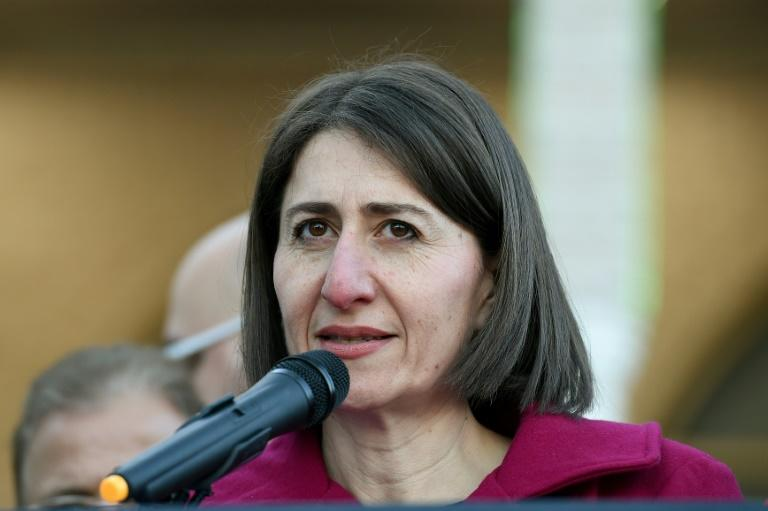 New South Wales Premier Gladys Berejiklian's (pictured June 2017) coalition lost several seats, while Labor gained two