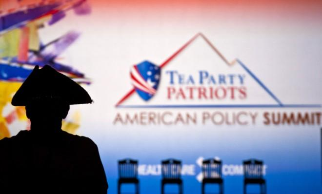 Better days: A 2011 Tea Party summit.